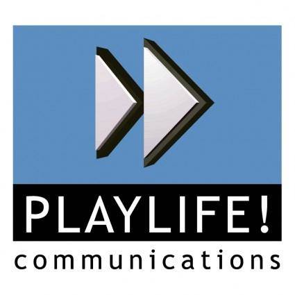 free vector Playlife communications