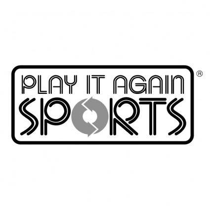 free vector Play it again sports