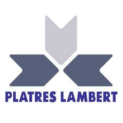 Platres lambert 1