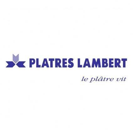 free vector Platres lambert 0
