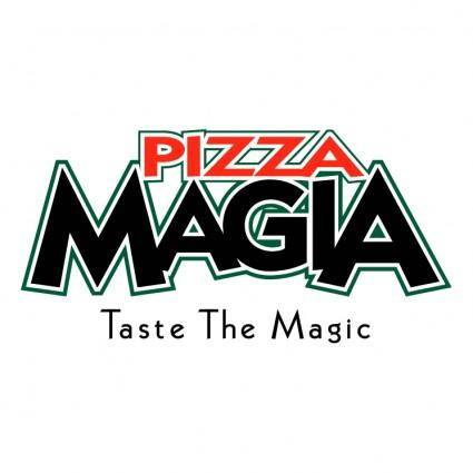 free vector Pizza magia