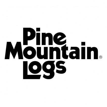 free vector Pine mountain logs