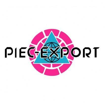 Piec export