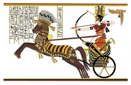 free vector Ramses ii battle of stone diego card vector
