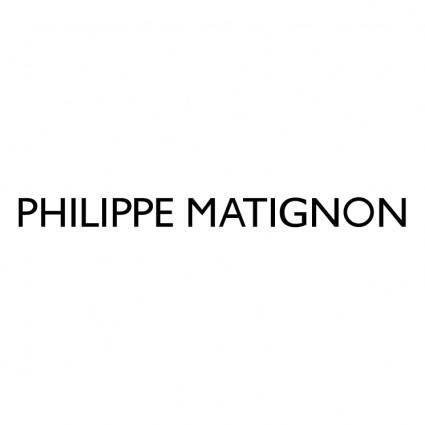 free vector Philippe matignon