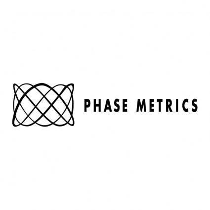 Phase metrics