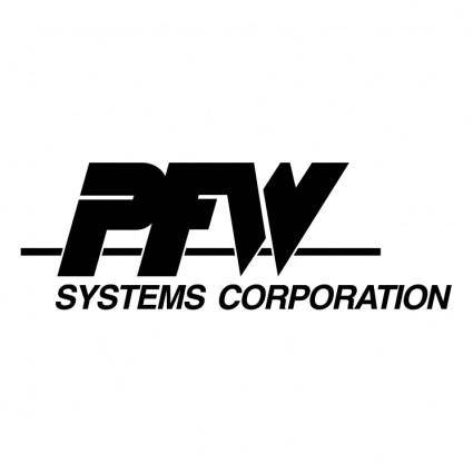 free vector Pfw systems