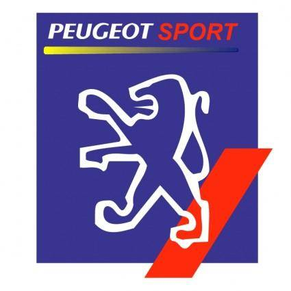 free vector Peugeot sport