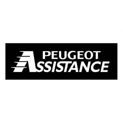 free vector Peugeot assistance