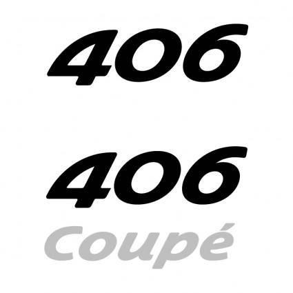 free vector Peugeot 406