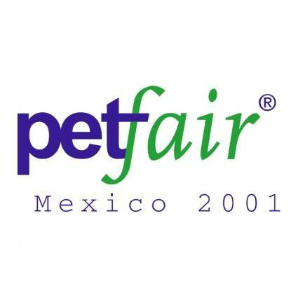 free vector Petfair mexico 2001