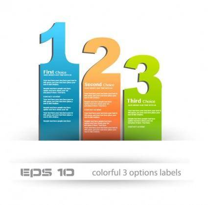 The stylish label design 02 vector