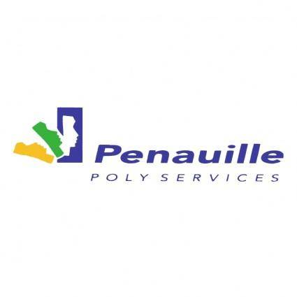 free vector Penauille poly services