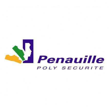 free vector Penauille poly securite