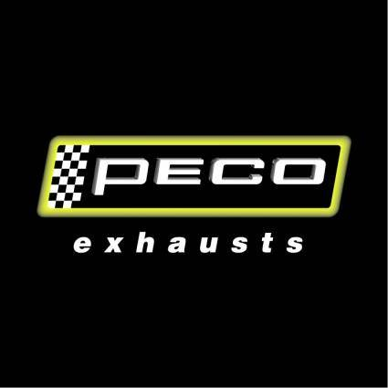 Peco exhaust