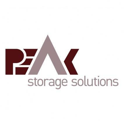 free vector Peak storage solutions