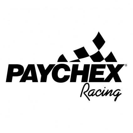 free vector Paychex racing