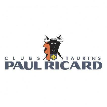 Paul ricard clubs taurins