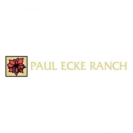 Paul ecke ranch
