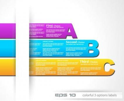 Fashion label design 03 vector