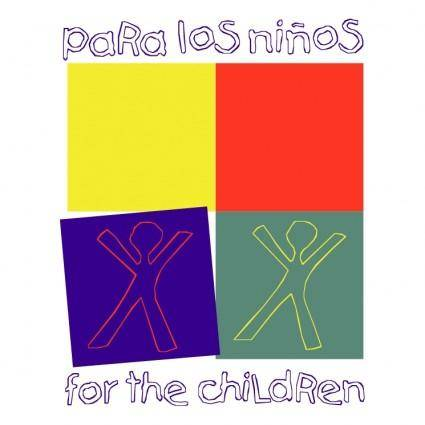 free vector Para los ninos for the children
