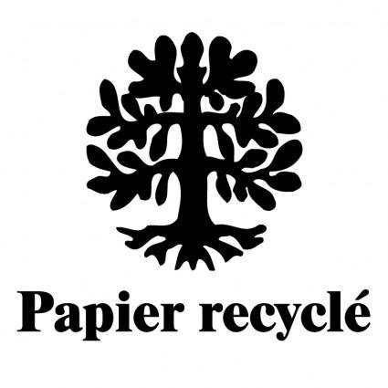 free vector Papier recycle