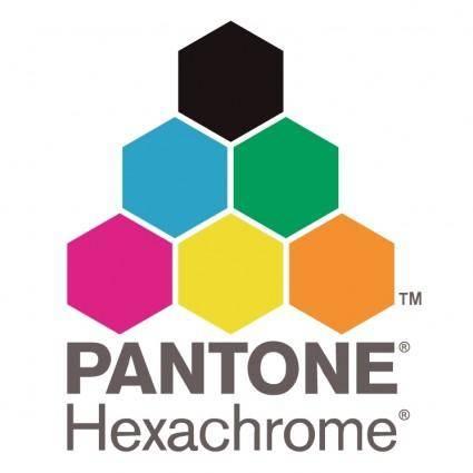 free vector Pantone hexachrome
