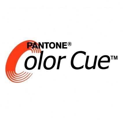 Pantone color cue