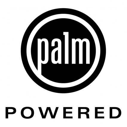 free vector Palm powered 0