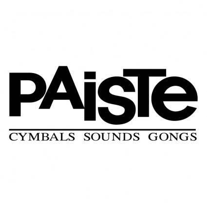 free vector Paiste