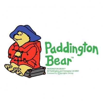 free vector Paddington bear