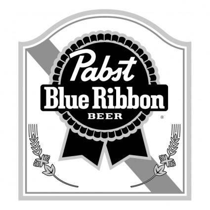 free vector Pabst blue ribbon 0