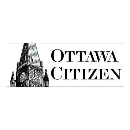 free vector Ottawa citizen 2