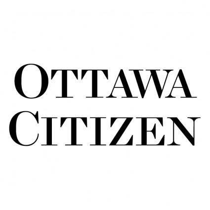 free vector Ottawa citizen 0
