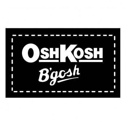 free vector Oshkosh bgosh 1