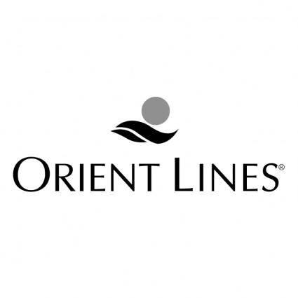 Orient lines