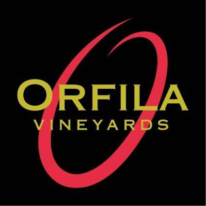 free vector Orfila vineyards
