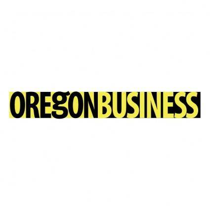 free vector Oregon business