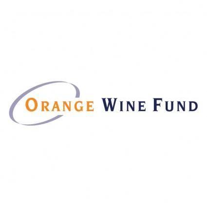 free vector Orange wine fund