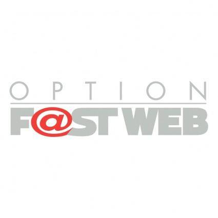 Option fastweb