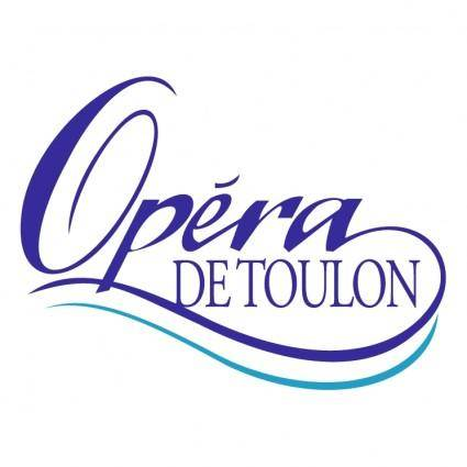 free vector Opera de toulon