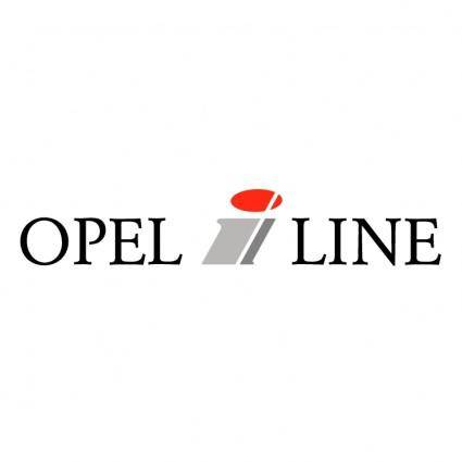 free vector Opel i line