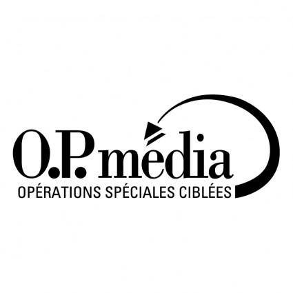 free vector Op media