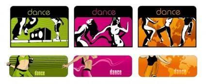 free vector Dance trend vector