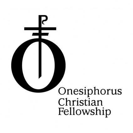 free vector Onesiphorus christian fellowship