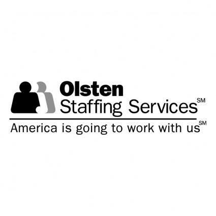free vector Olsten staffing services