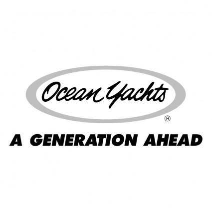 free vector Ocean yachts