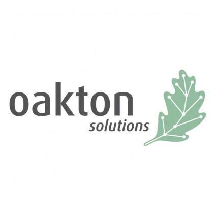 free vector Oakton solutions