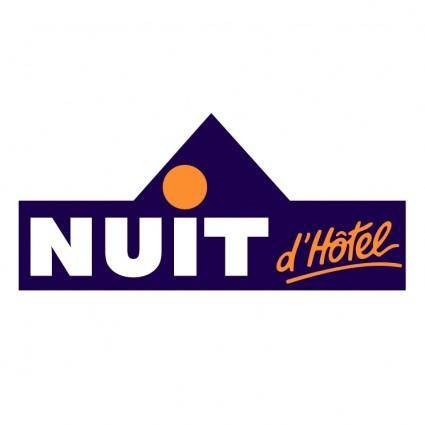 free vector Nuit dhotel
