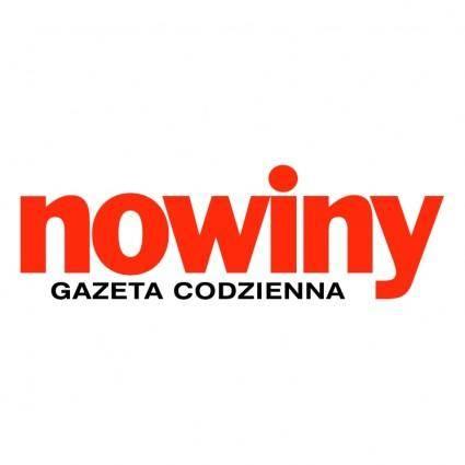 free vector Nowiny gazeta 0